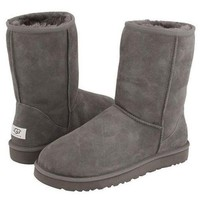 UGG Classic Boots Wool Fur Boots Half Boots Shoes-2