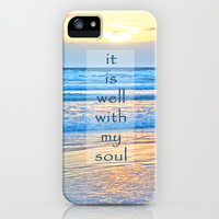 It Is Well With My Soul iPhone & iPod Case by Shawn Terry King