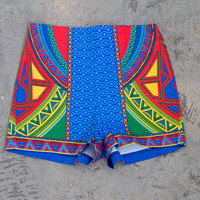 Primary Colors High Waist Shorts