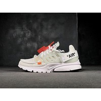 ow OFF-WHITE x Nike Air Presto OW 2.0 AA3830-100