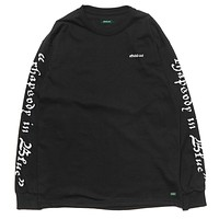 Rhapsody L/S Tee in Black