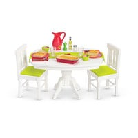 American Girl® Furniture: Dinner Table & Accessories