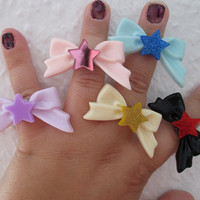 Sailor Moon - Sailor SCOUT RINGS - Sailor Saturn, Chibi Moon, Sailor Mercury, Sailor Venus & Sailor Mars - COSPLAY Rings