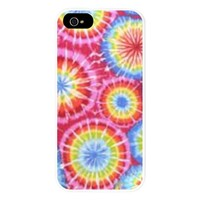 Tie Dye Trippy Circles iPhone 5 Case.png iPhone 5