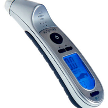 Accutire Programmable Digital Tire Pressure Gauge with Flashlight