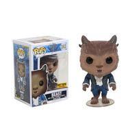 Funko Disney Beauty And The Beast Pop! Beast (Flocked) Vinyl Figure Hot Topic Exclusive