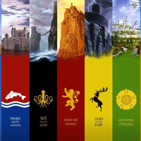 Game of Thrones Fabric Poster