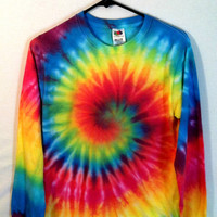 Long Sleeve Tie-Dye TShirt