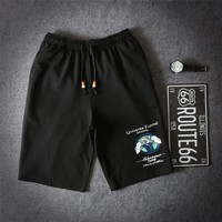 Slim Summer Beach Pants Casual Shorts [10474619779]