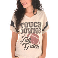 Touchdowns and Tailgates Tee