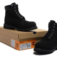 DCCKBE6 Timberland Rhubarb Boots 2018 Black Waterproof Martin Boots