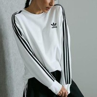 """Adidas"" Women Fashion Top Sweater Pullover Sweatshirt Stretch Leggings Sweatpants"