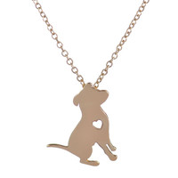 PitBull Necklace With Heart
