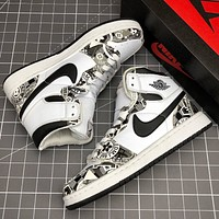 Nike Air Jordan 1 Mid AJ1 New Retro Men's Basketball Shoes