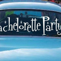 My Bachelorette Party Car Decals Personalized Bachelorette Party | wicksncandlesticks - Wedding on ArtFire