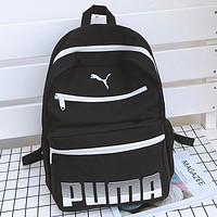 Puma Fashion Casual Simple School Backpack Travel Bag