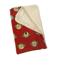 Silly Monkey Blanket