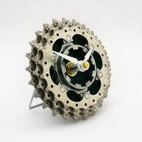 Recycled Bicycle Gear Desk Clock - Bike Clock - Upcycled Clock - Eco-Friendly Decor - Bicycle Clock - Cycling Gift - Bike