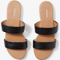 Two Strap Slide Sandals from EXPRESS