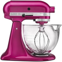 KitchenAid Mixer Raspberry Ice 10th Anniversary Cook for the Cure