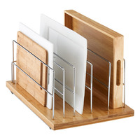 """Bamboo 14"""" Roll-Out Kitchenware Divider"""