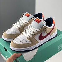 Nike Sb Dunk low-top casual all-match big hook sports sneakers shoes