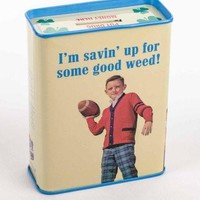 Savin Up For Some Good Weed Tin Bank
