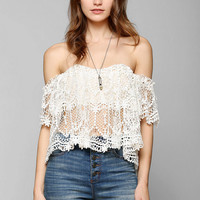 Stone Cold Fox Holy Lace Top - Urban Outfitters
