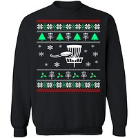 Disc Golf Ugly Christmas Sweater