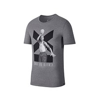 Air Jordan Men's Retro 11 XI Grey Black T-Shirt