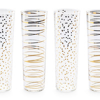 Gold Luxe Champagne Flutes