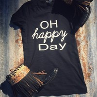 Oh Happy Day graphic tee from Ritzy Gypsy Boutique