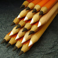 General Pencil 557-HB Top Quality Charcoal Pencil, Extra Smooth, Non-Toxic, HB Tip, Black (Pack of 12)