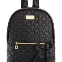 Betsey Johnson Macy's Exclusive Quilted Backpack | macys.com