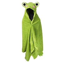 Hooded Towel Frog Bath Towels for Children and Adults