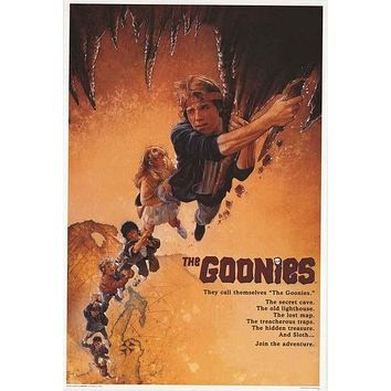 The Goonies Hang On! Movie Cast Poster 24x36