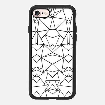 Abstraction Mirrored iPhone 7 Case by Project M | Casetify