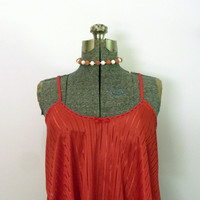 Vintage Red Butterfly Lingerie Top by rileybella123 on Etsy