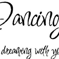 Dancing is like...Dance Wall Quotes Lettering Words Removable Wall Art, RED