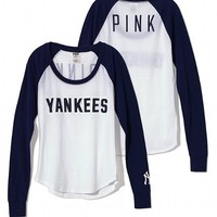 New York Yankees Long Sleeve Baseball Tee