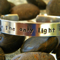 American Horror Story inspired bracelet, You're the only light I've ever known