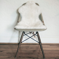Authentic Sheepskin Covers for Eames Shell Chairs