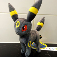 "8"" New UMBREON Plush Rare Soft Toy Doll"