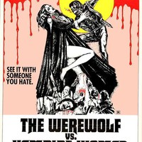 The Werewolf Versus Vampire Women 11x17 Movie Poster (1971)