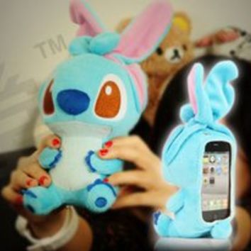 Cartoon Plush Toy iDoll Style Case for iPhone 4/4S from 1Point99.com