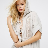 Free People Paradise Lost Hoodie Dress
