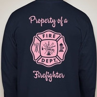 Firefighter girlfriend/wife shirts unisex you pick by craftybug20