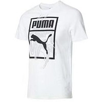 PUMA Tide brand sports and leisure round neck breathable shirt short-sleeved T-shirt white