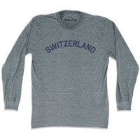 Switzerland City Vintage Long Sleeve T-shirt
