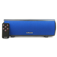 Craig Stereo Speaker Bar with Bluetooth Wireless Technology-BLUE